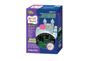 Angel Sand(Glow-in-the-dark) -500g(0.9L)Bulk-Poly Bag with package(2colors)