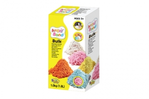 Angel Sand-1.0kg(1.8L)Bulk-Poly Bag with package(5colors)