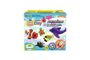 Swimming Clay-Aquarium Kit