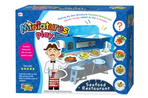 Miniatures play-Seafood Restaurant