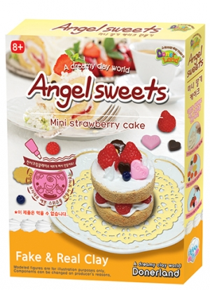 Angel sweets - Mini strawberry cake